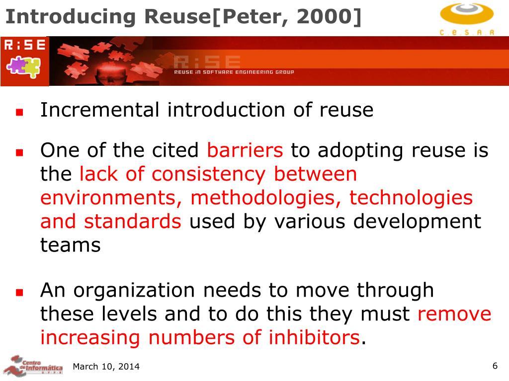 Introducing Reuse[