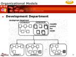 organizational models19