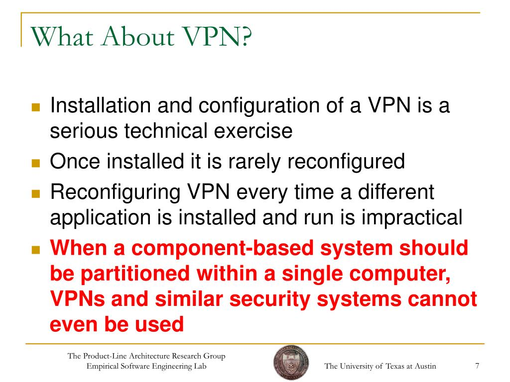 What About VPN?