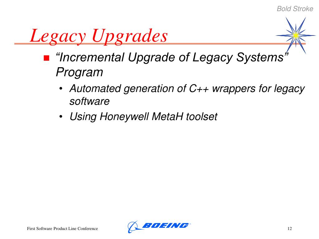 Legacy Upgrades