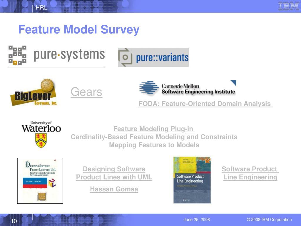 Feature Model Survey
