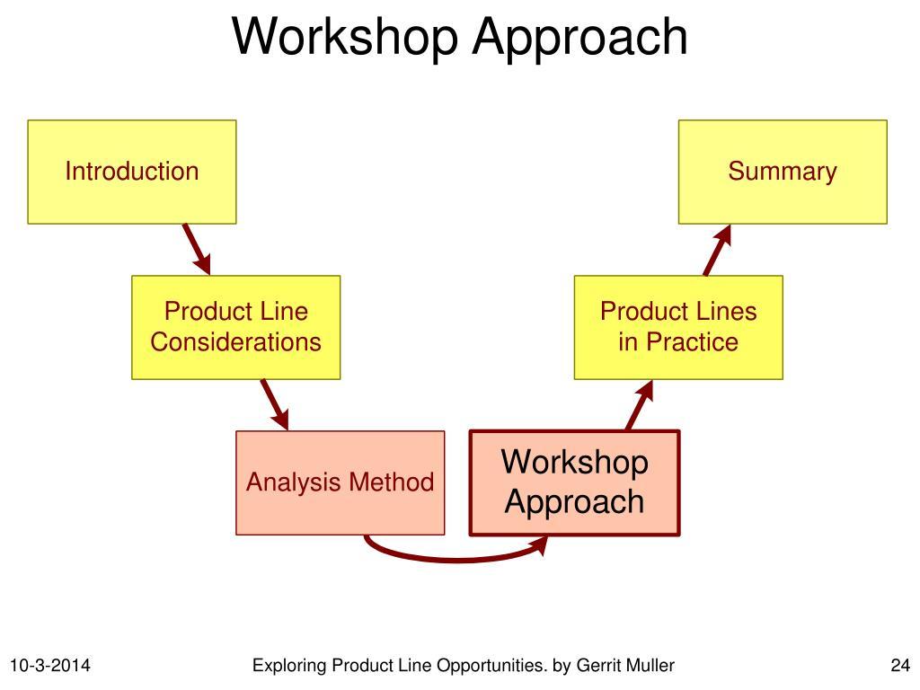 Workshop Approach