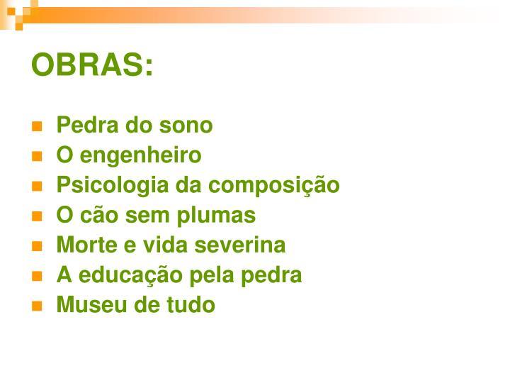 OBRAS: