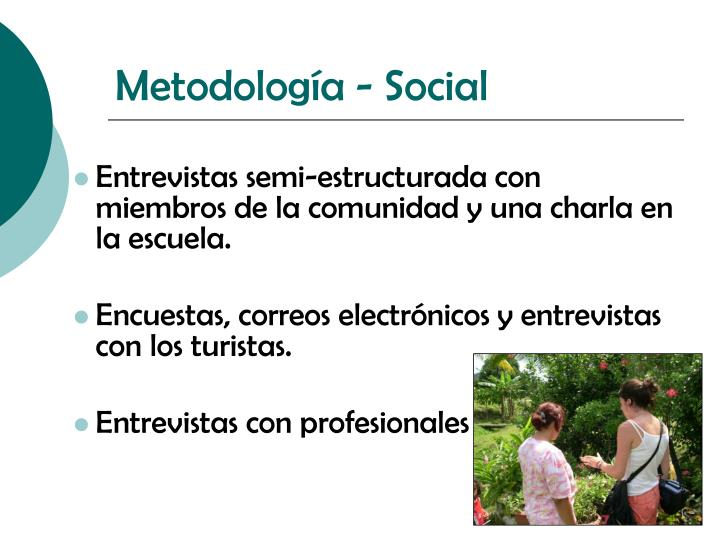 Metodología - Social