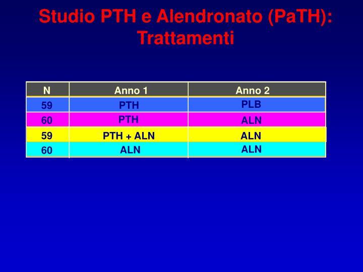 Studio PTH e Alendronato (PaTH):