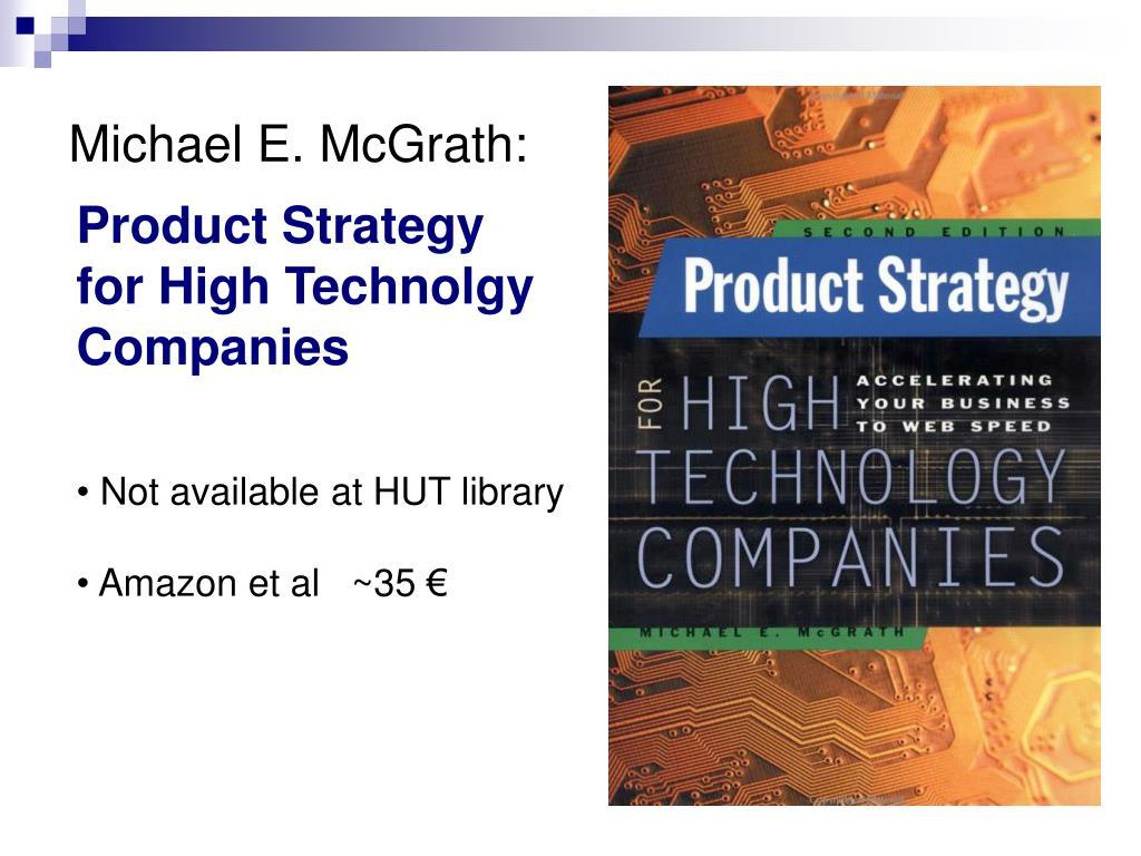 Michael E. McGrath: