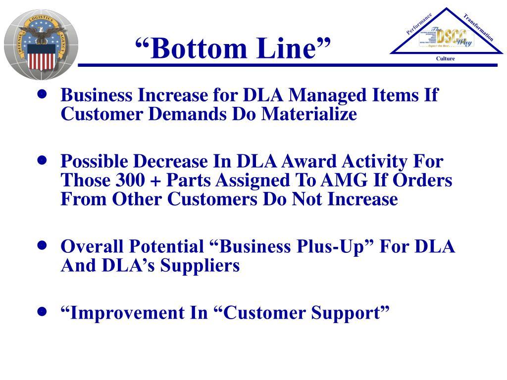 """Bottom Line"""