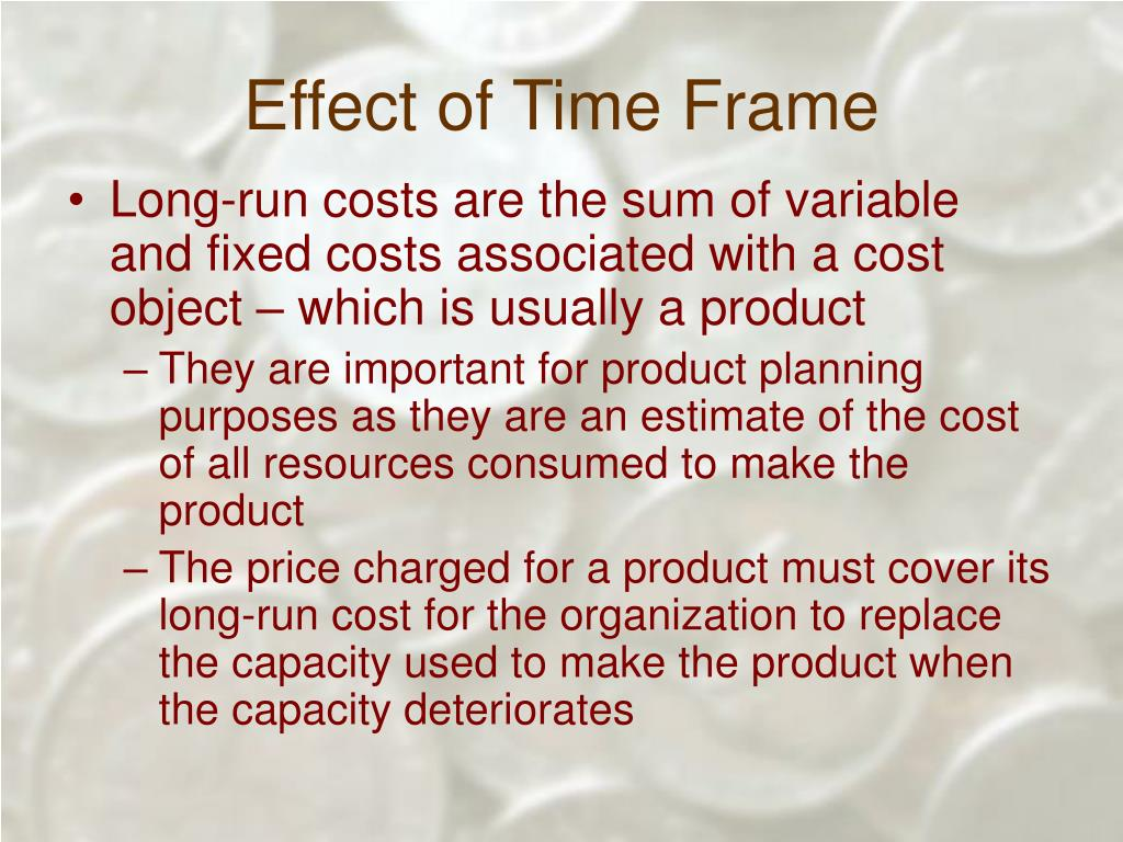 Effect of Time Frame