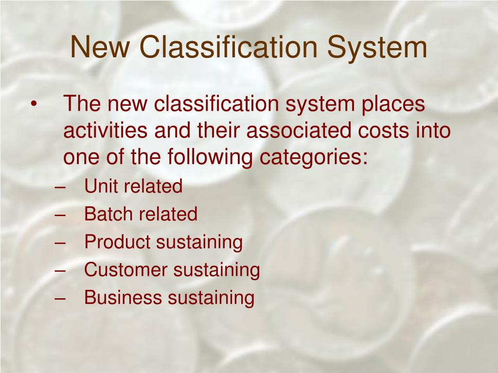 New Classification System