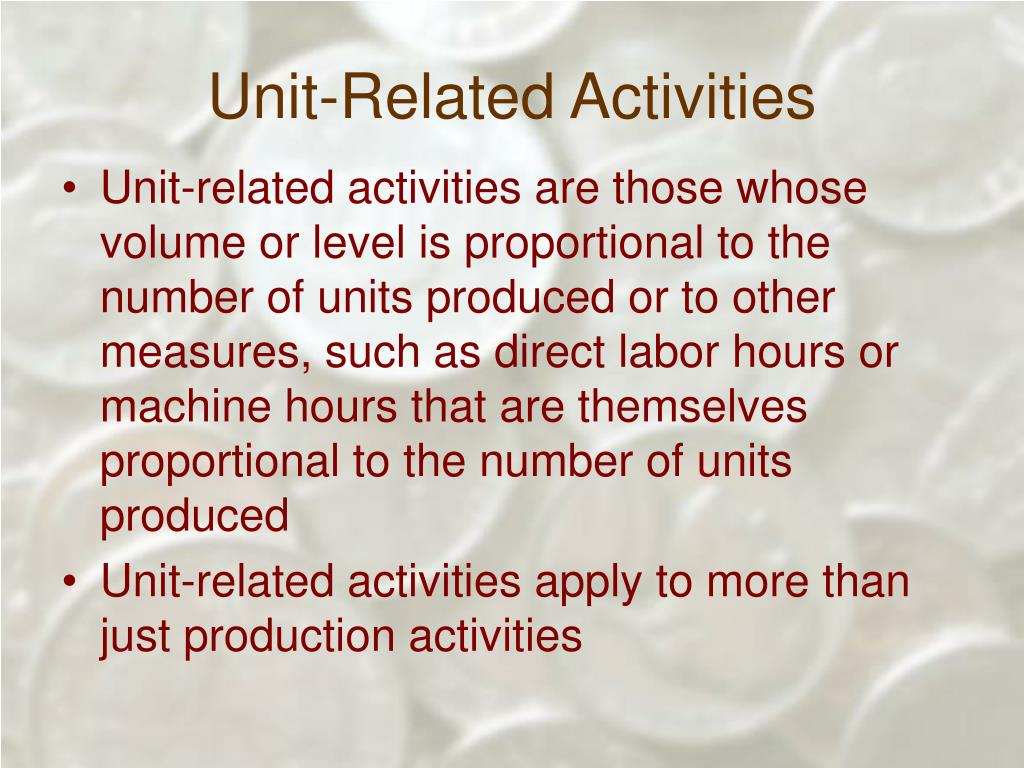 Unit-Related Activities
