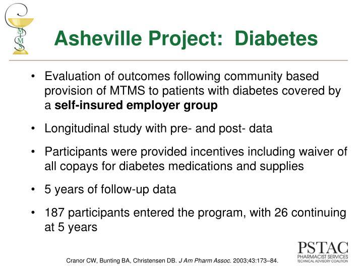 Asheville Project:  Diabetes