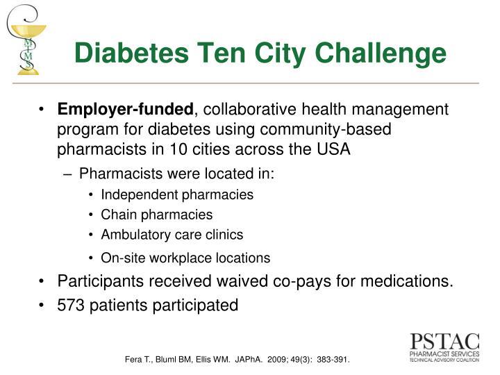 Diabetes Ten City Challenge