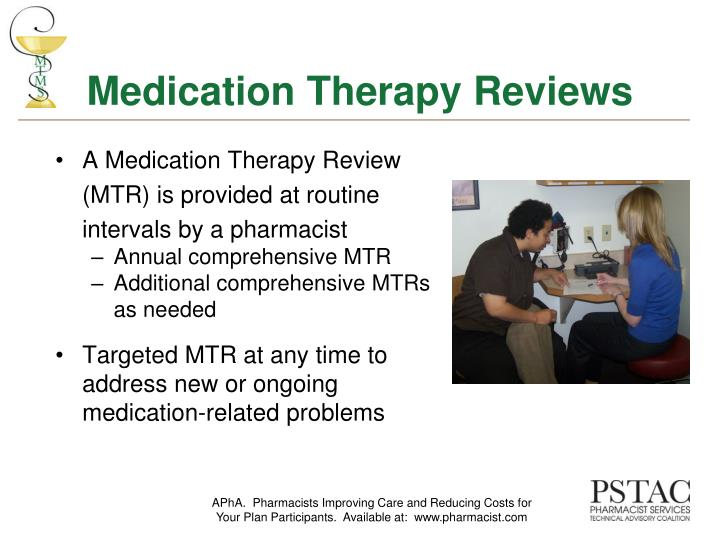 Medication Therapy Reviews
