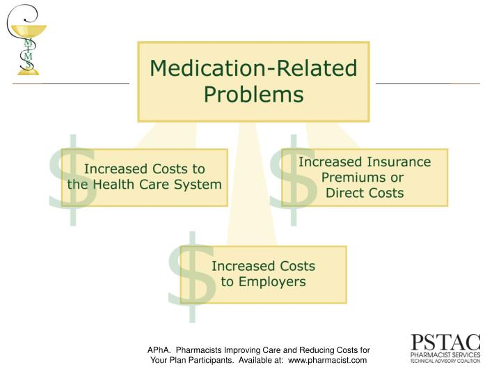 APhA.  Pharmacists Improving Care and Reducing Costs for Your Plan Participants.  Available at:  www.pharmacist.com