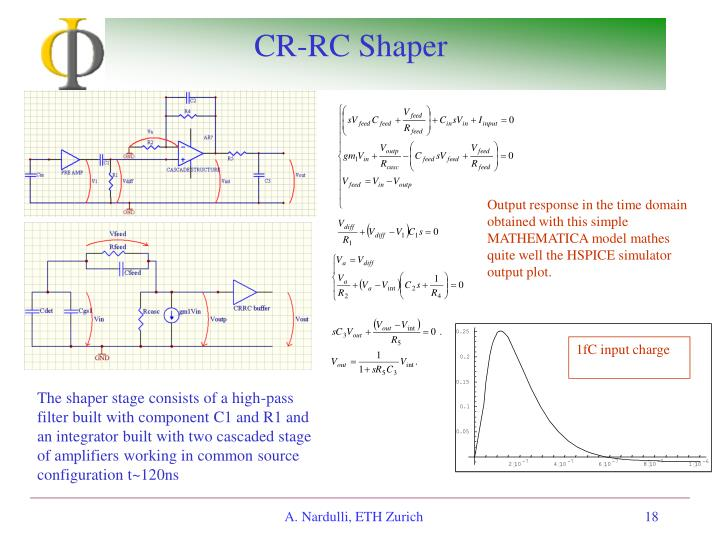 CR-RC Shaper