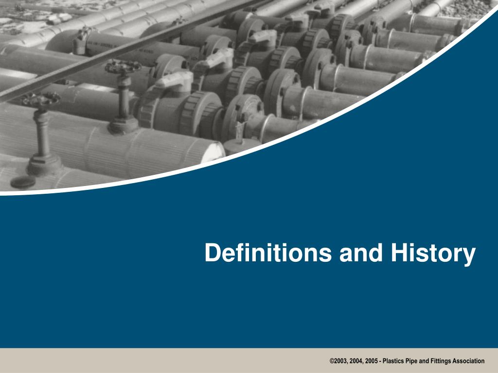 Definitions and History