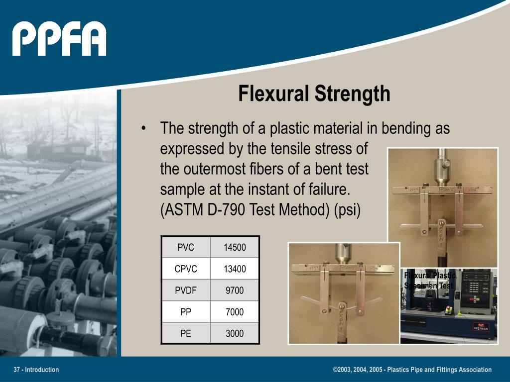 Flexural Plastic Specimen Test