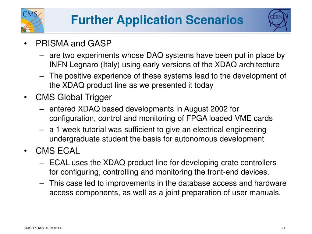 Further Application Scenarios