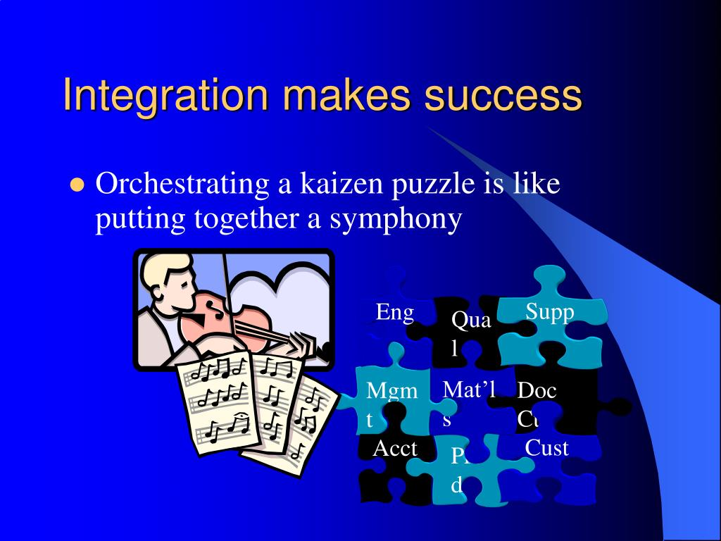 Integration makes success