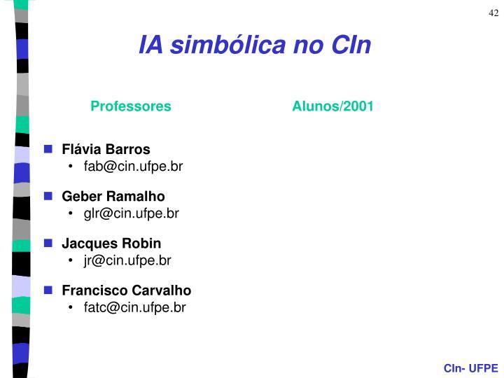 IA simbólica no CIn