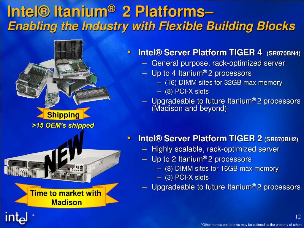 Intel® Itanium