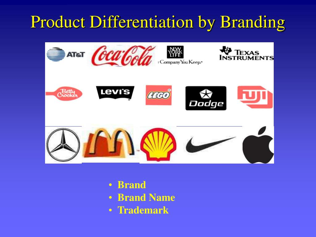 Product Differentiation by Branding