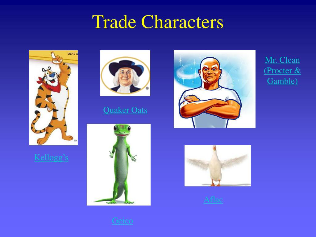 Trade Characters