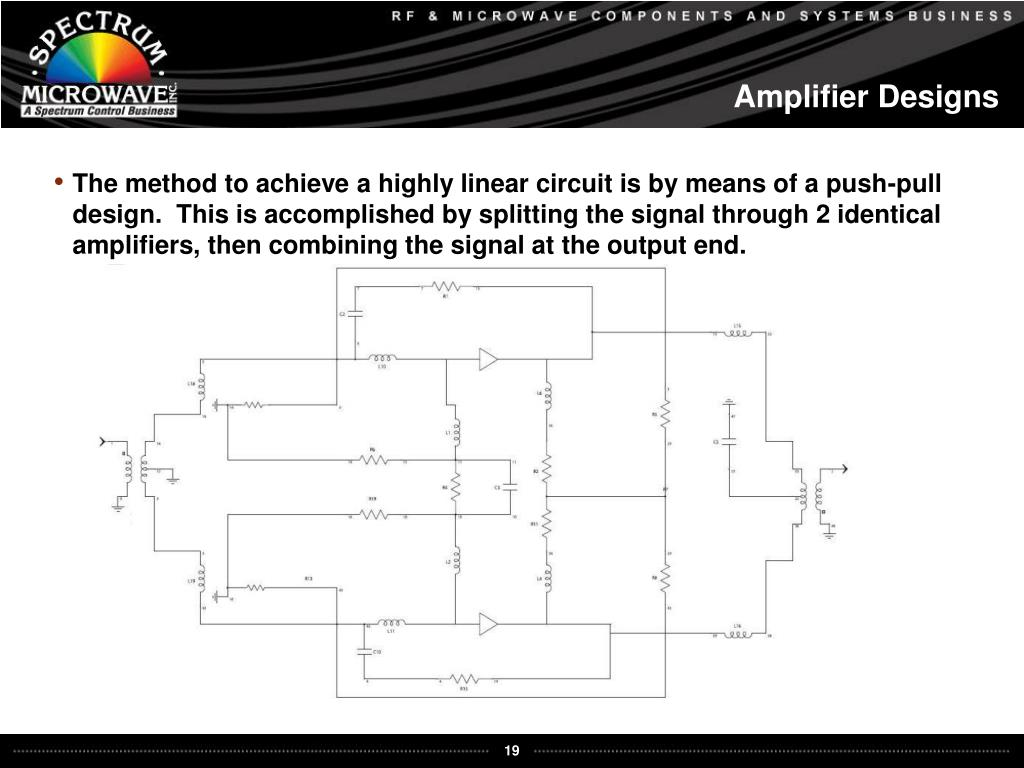 Amplifier Designs