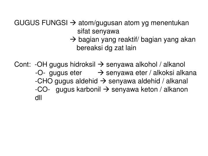 GUGUS FUNGSI