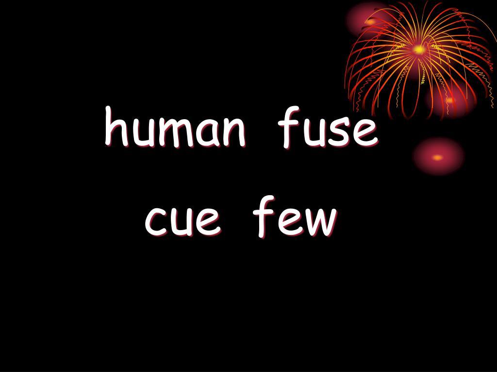 human  fuse