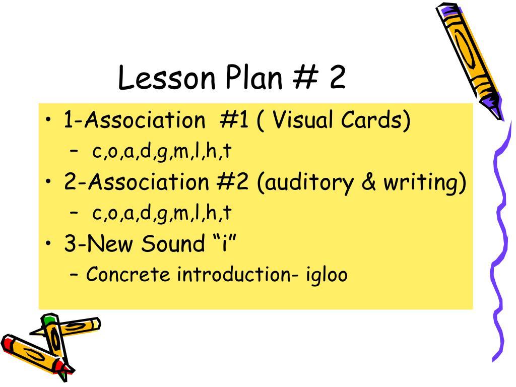 Lesson Plan # 2