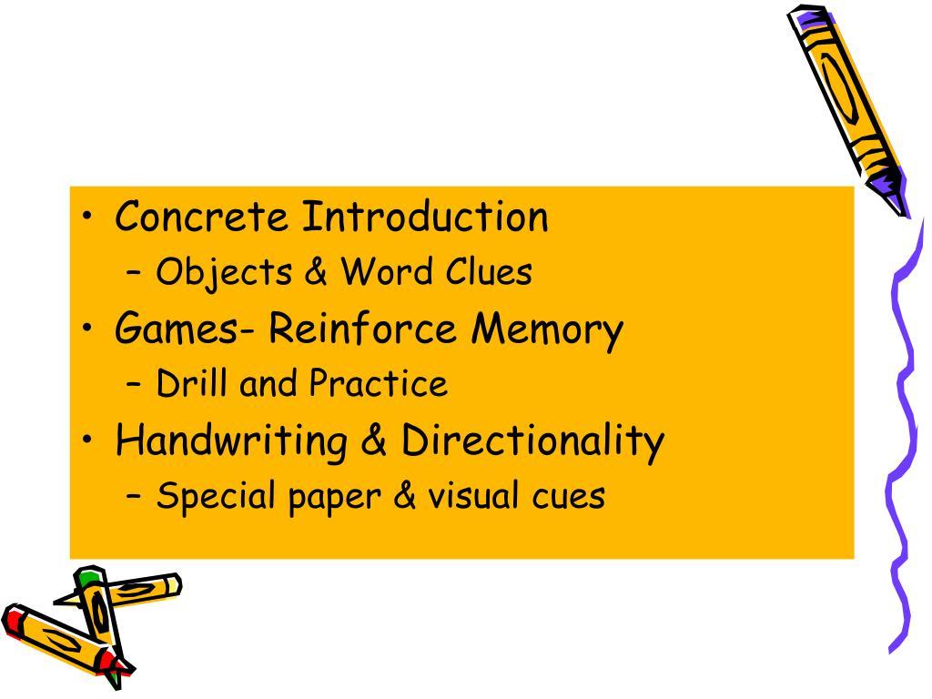Concrete Introduction
