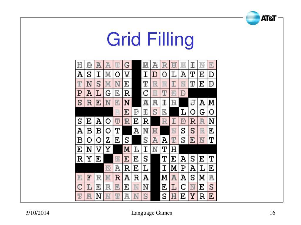 Grid Filling