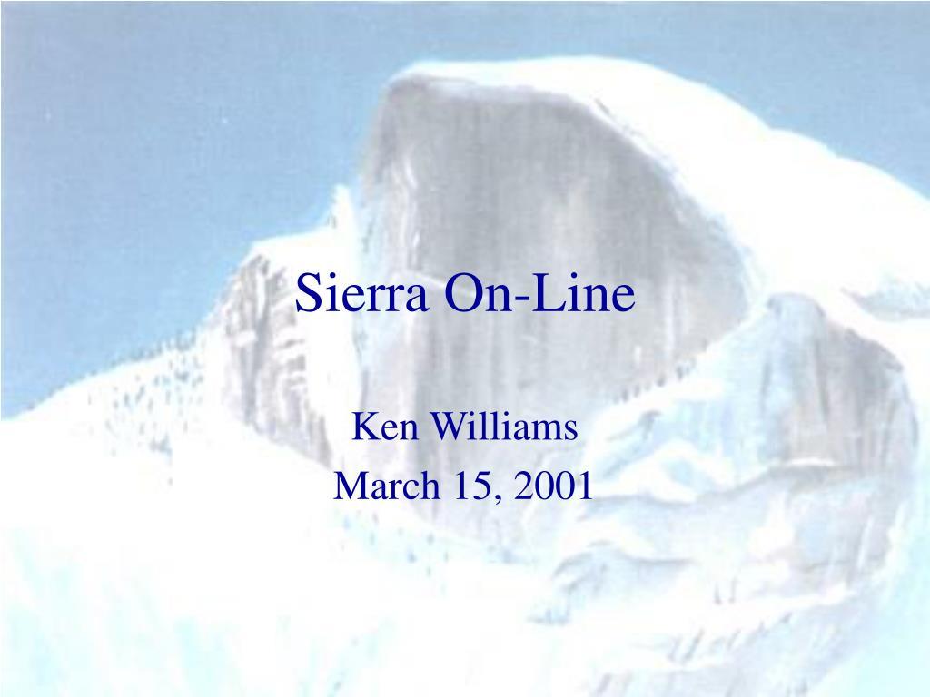 sierra on line