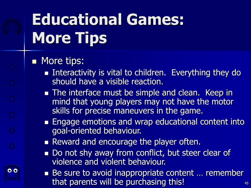 Educational Games: