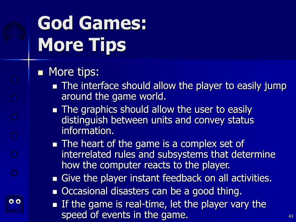 God Games: