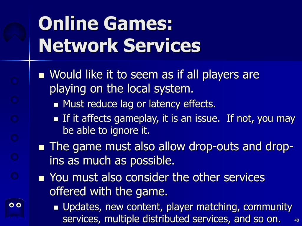 Online Games: