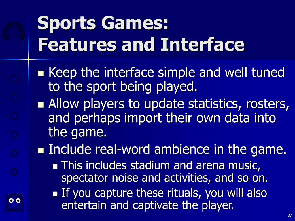 Sports Games: