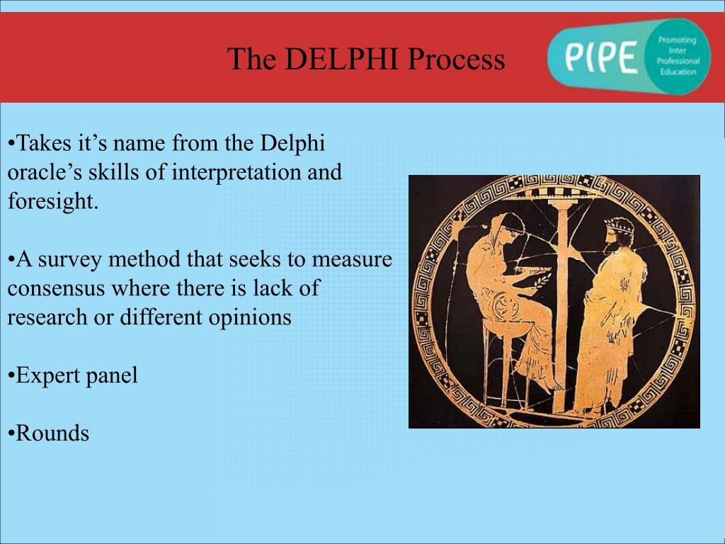 The DELPHI Process