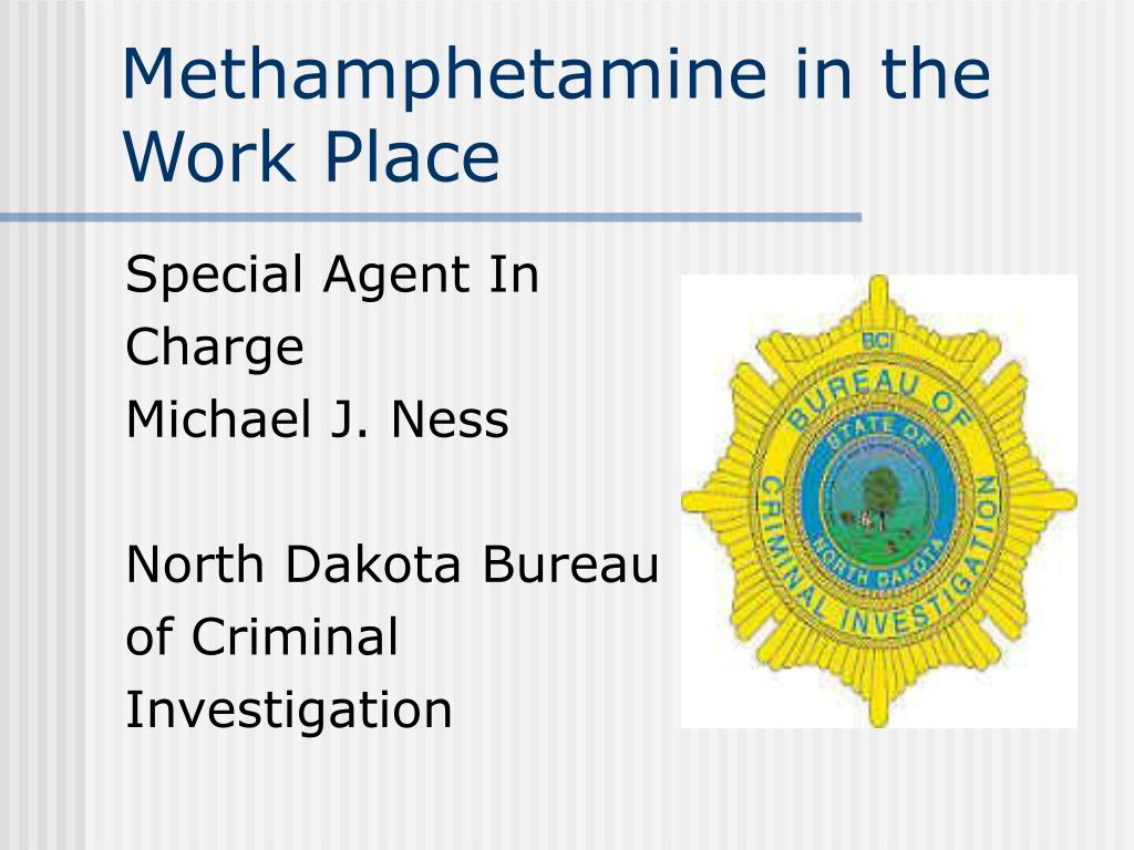Methamphetamine in the Work Place