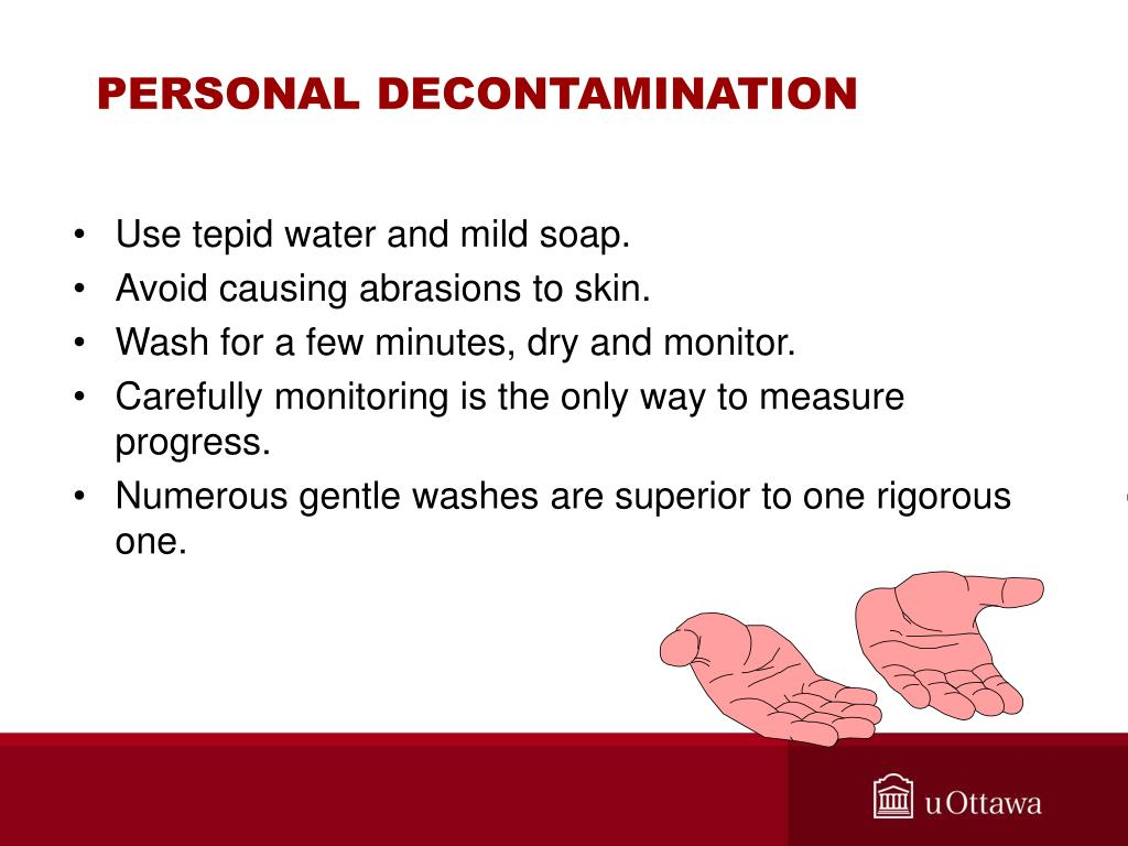 PERSONAL DECONTAMINATION