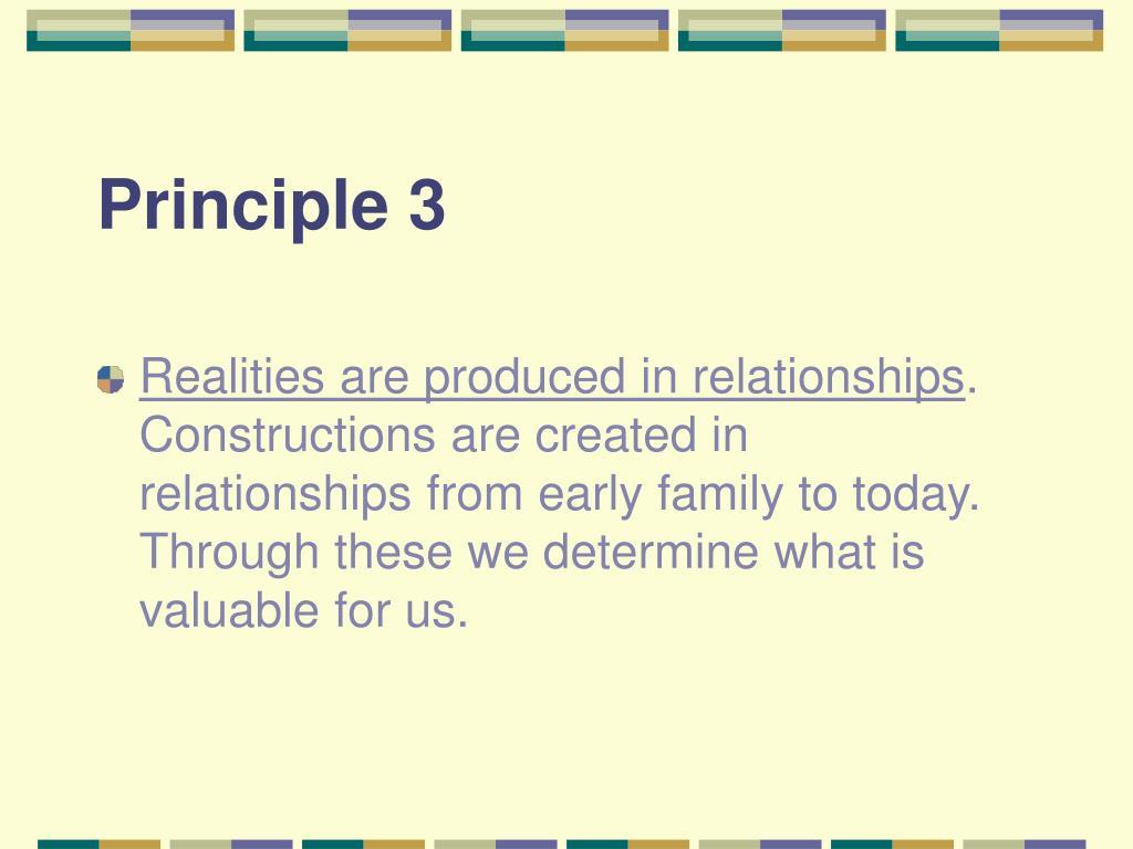 Principle 3