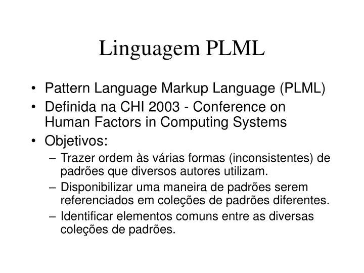 Linguagem PLML