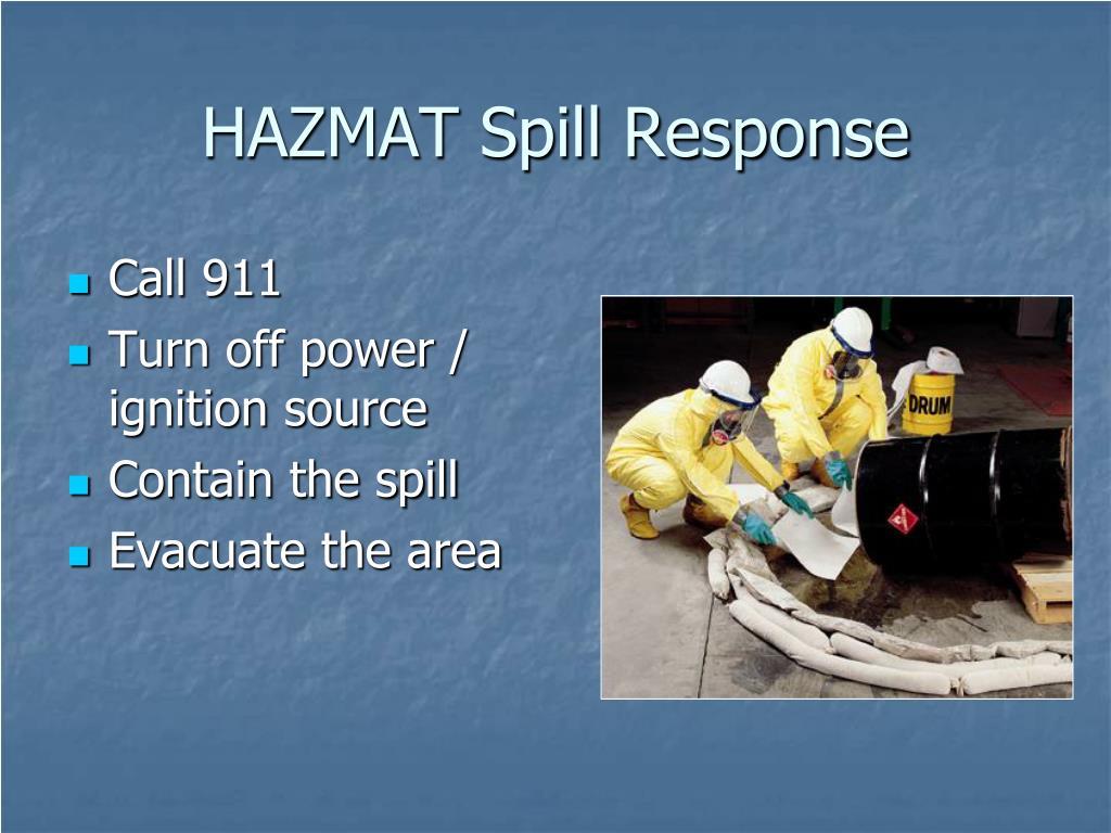 HAZMAT Spill Response