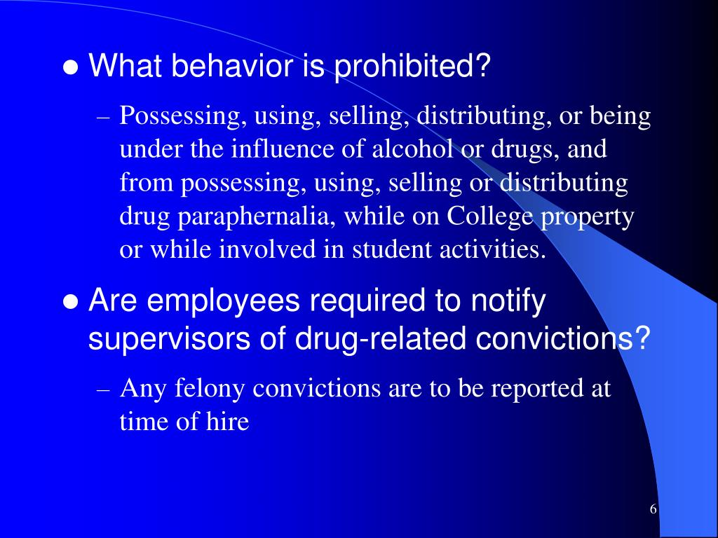 What behavior is prohibited?