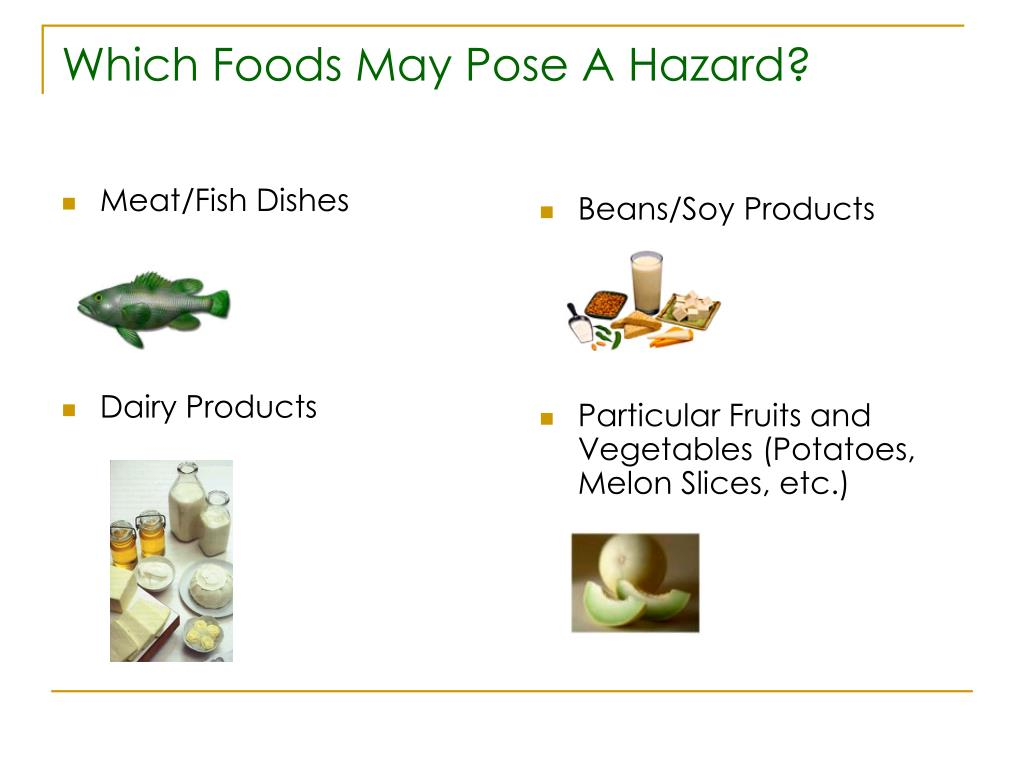 Which Foods May Pose A Hazard?