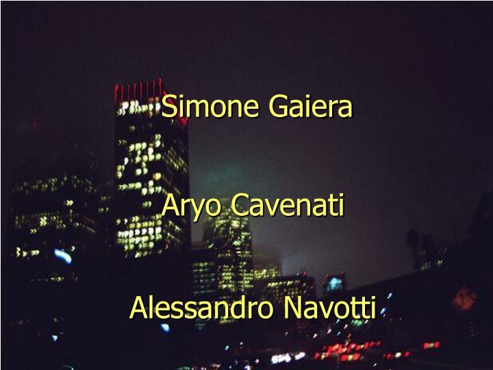 Alessandro Navotti
