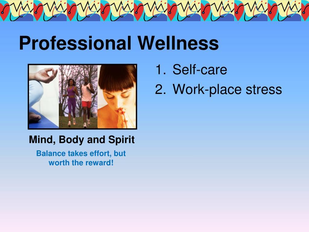 Professional Wellness