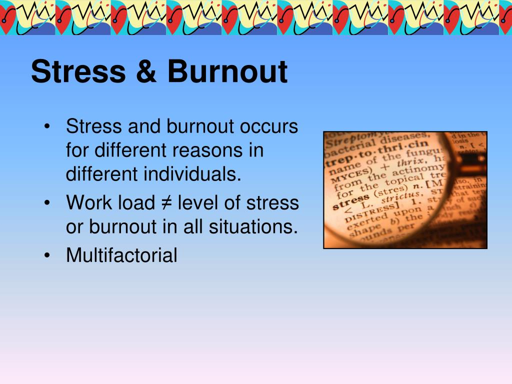 Stress & Burnout