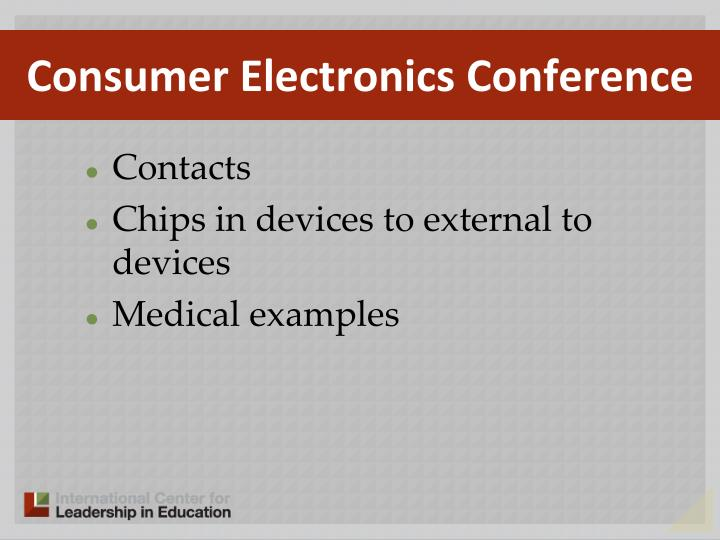 Consumer Electronics Conference